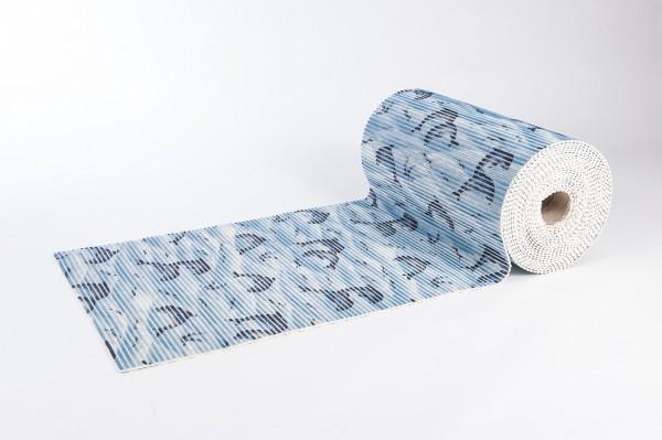 Weichschaummatte Delphin 65x140 cm Badteppich Antirutschmatte Meterware