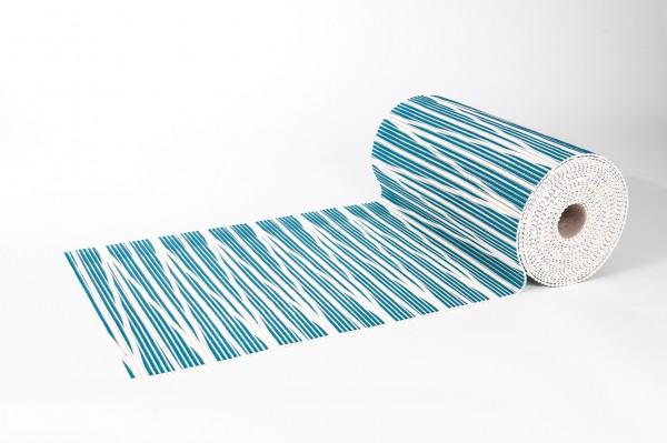 Weichschaummatte Zick Zack 65x140 cm Badteppich Antirutschmatte Meterware