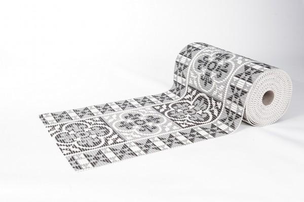 Weichschaummatte Ornament 65x170 cm Badteppich Antirutschmatte Meterware